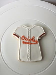 Cookies designed with your favorite team's jersey!