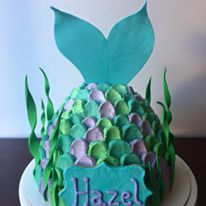 Mermaid tail cake!