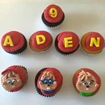 These Alvin & The Chipmunk cupcakes are the perfect addition to your kid's party!