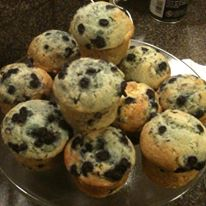 Blueberry muffins are a wonderful morning treat!